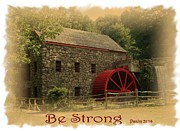 Be Strong Print by Patricia Urato