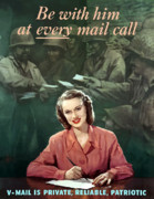 Store Digital Art - Be With Him At Every Mail Call by War Is Hell Store