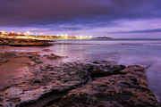 Winter Storm Photos - Beach at dusk by Carlos Caetano