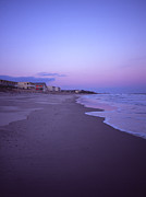 York Beach Prints - Beach at Twilight Montauk  Print by Rosemary Hawkins