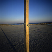 Pole Prints - Beach Print by Bernard Jaubert