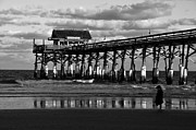 Fishing Pier Prints - Beach Boy Print by David Lee Thompson