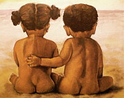 Detail Pastels - Beach Buddies by Curtis James