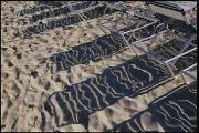 Virgin Gorda Island Art - Beach Chairs Cast Shadows Over The Sand by Todd Gipstein