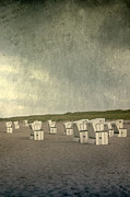 Plenty Prints - Beach Chairs Print by Joana Kruse