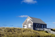 Shanty Prints - Beach Cottage Print by John Greim