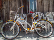 Beach Cruiser Photos - Beach Cruiser by Cindy Nunn
