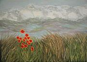 Sodi Griffin - Beach Daisies on Dune