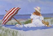 Copley Paintings - Beach Dreams by Candace Lovely