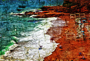 Chaise-lounge Art - Beach Fantasy by Madeline Ellis