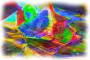 Beach Glass Abstract Print by Judi Bagwell