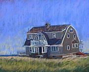 House Pastels - Beach House by Mary Capriole
