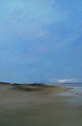 Cape Cod Paintings - beach House by Michael Marrinan