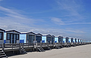 Built Structure Art - Beach Houses by Leuntje