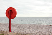 Beach Photography Art - Beach In Budleigh Salterton by Thenakedsnail