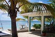  Beach Posters - Beach in Grand Turk Poster by Debbi Granruth