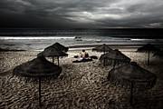 Beach Minstrel Print by Carlos Caetano