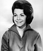 1960s Hairstyles Posters - Beach Party, Annette Funicello, 1963 Poster by Everett