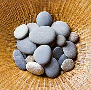 Pebbles Prints - Beach Pebbles Print by Sophie De Roumanie
