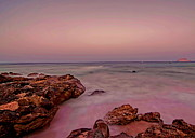 Pakistan Prints - Beach Rocks Print by Shahzad Ali Photography