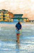 Mulling Art - Beach Walk by Judith Bicking