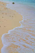 Stock Images Prints - Beach Water Curves Print by James Bo Insogna
