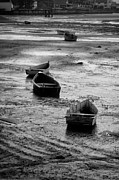Futility Prints - Beached Boats Print by Gary Slawsky