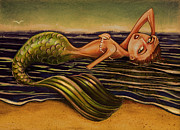 Michael Scholl - Beached Mermaid