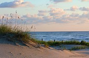 Beaches Of Outer Banks Nc Print by Laurinda Bowling