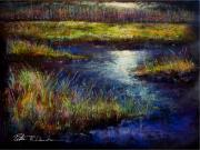 Nj Pastels - Beacon Dusk by Peter R Davidson