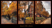 Beacon Hill Posters - Beacon Hill Poster by Joann Vitali