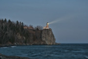 North Shore Prints - Beacon Lighting Print by Laurie Prentice