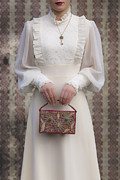 Fancy Lady Posters - Beaded Handbag Poster by Joana Kruse