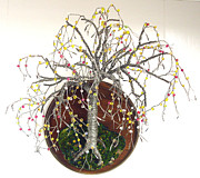 Sal Villano - Beaded on Round Base -...