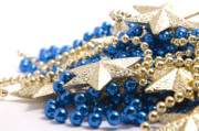Festive Photo Prints - Beads and Stars Print by Andy Smy