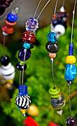 Glass Beads Prints - Beads of Glass Print by Gallery Three