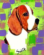 Beagle Print by Char Swift