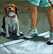 Linda Apple Originals - Beagle Day by Linda Apple