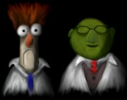 Muppets Prints - Beaker and Co. Print by Timothy Geiges