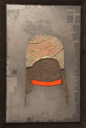 Textiles Mixed Media Posters - Beanie 2 Poster by Artemis Papadopoulou