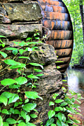 Grist Mill Art - Beans Mill by JC Findley