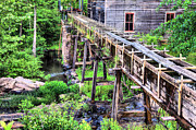 Grist Photos - Beans Sawmill by JC Findley