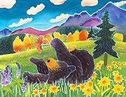 Colorado Art - Bear and the Butterfly by Harriet Peck Taylor