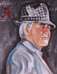Bear Bryant Art - Bear Bryant by Mikayla Henderson