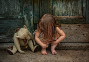 Children Photos - Bear Feet by Robin-Lee Vieira
