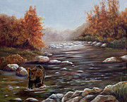 Dorothy Riley - Bear in Fall