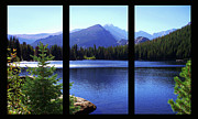 Bear Lake Acrylic Prints - Bear Lake triptych Acrylic Print by Terril Heilman