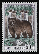 Andy Prendy - Bear Vintage Postage...