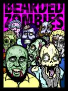 Creepy Digital Art Posters - Bearded Zombies Group Photo Poster by Christopher Capozzi