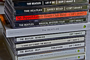 Music Cds Posters - Beatles Poster by Bill Owen